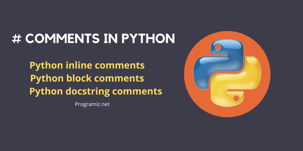 Types of comments in python